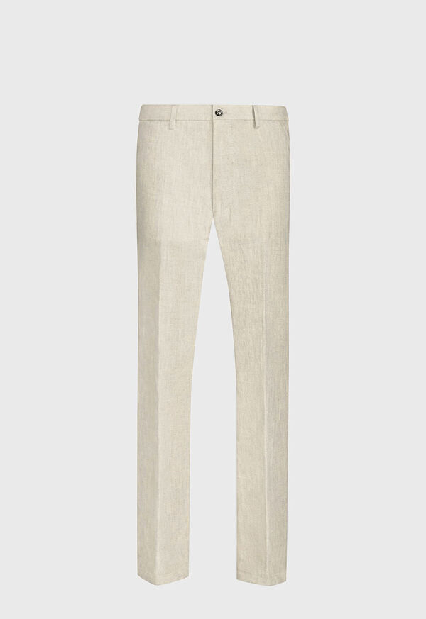 Tan Linen Pant, image 1