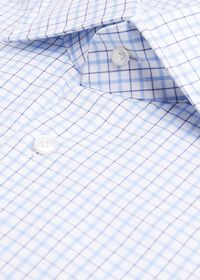 Blue/White Tattersall Dress Shirt, thumbnail 2