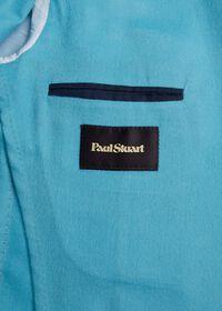 Light Blue Cashmere Soft Jacket, thumbnail 6