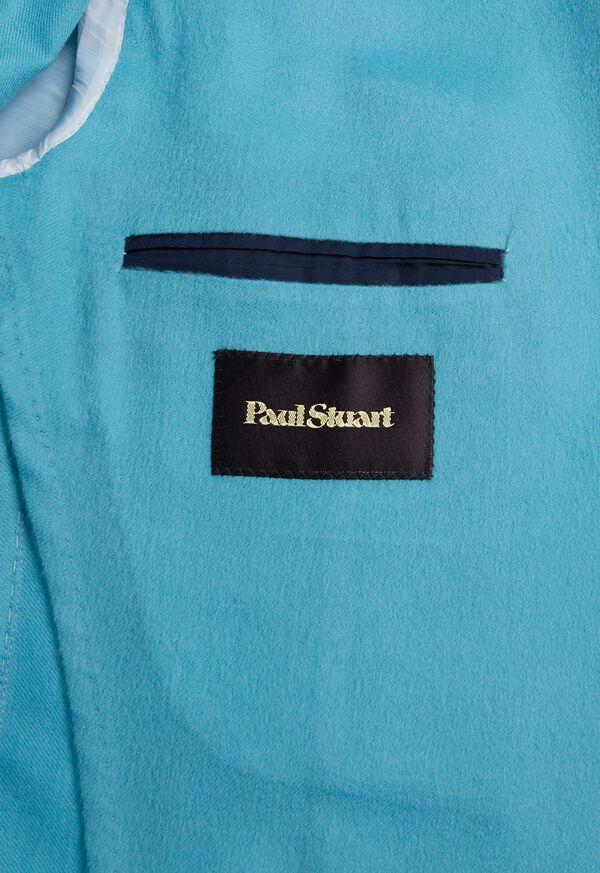 Light Blue Cashmere Soft Jacket, image 6