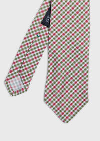 Small Square Pattern Tie, thumbnail 1