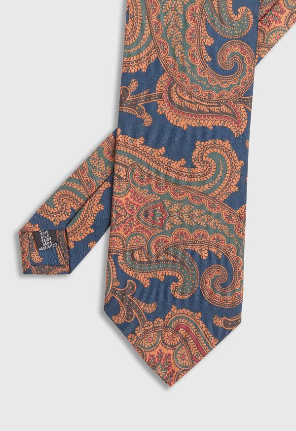 Paisley Silk Tie, image 1