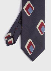 Deco Diamond Wool Tie, thumbnail 1