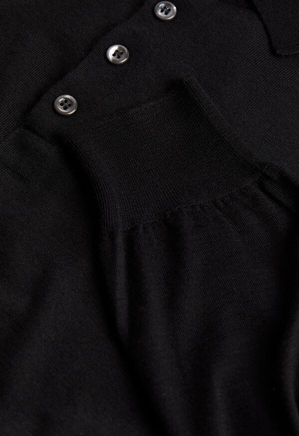 Long Sleeve Cashmere Polo, image 2