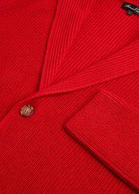 Cashmere Shawl Collar Cardigan, thumbnail 2