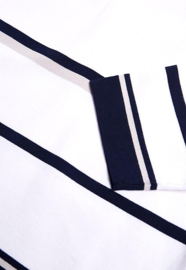 Square Neck Striped Pullover, image 2