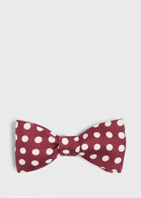 Silk Large Dot Bowtie, thumbnail 1