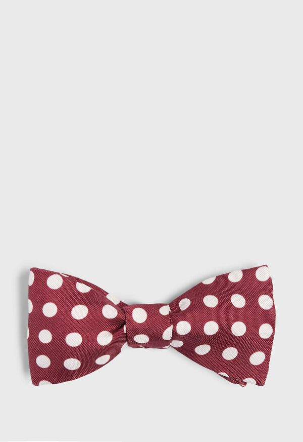 Silk Large Dot Bowtie, image 1