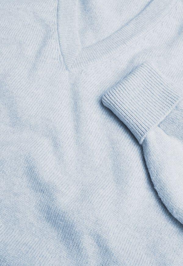 Scottish Cashmere V-Neck Sweater, image 30
