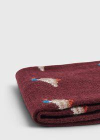 Duck Motif Wool Sock, thumbnail 2
