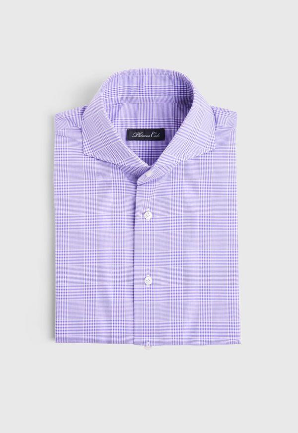 Plum Plaid Dress Shirt
