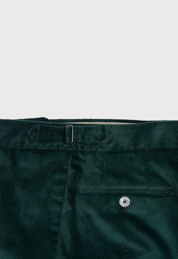 Slim Fit Cotton Velvet Pant, image 4
