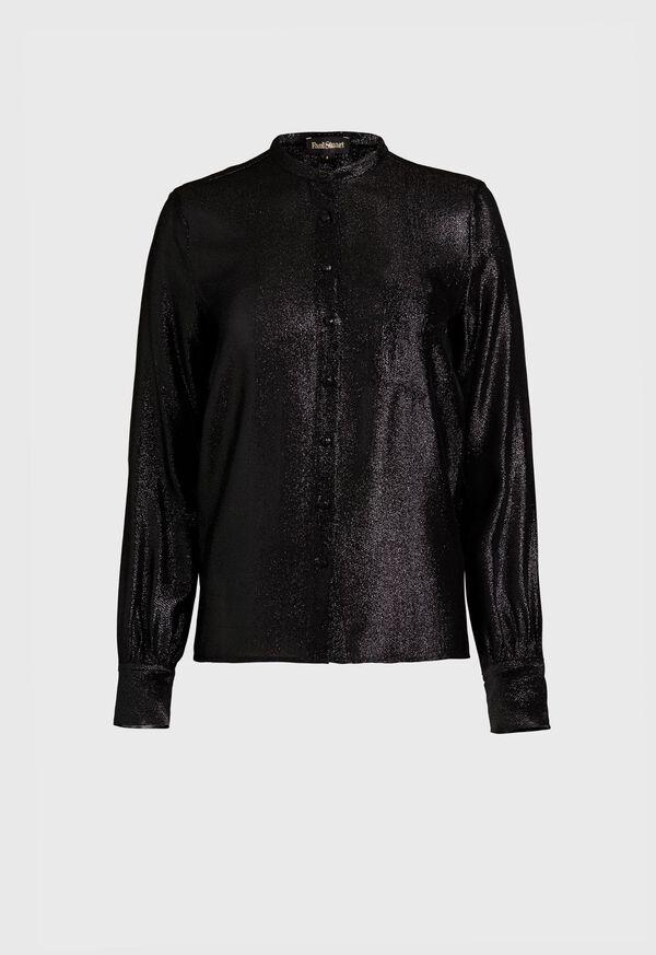Long Sleeve Sparkle Blouse, image 1