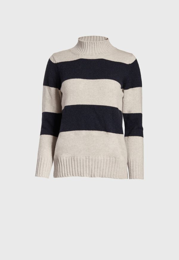 Striped Cashmere Sweater, image 1