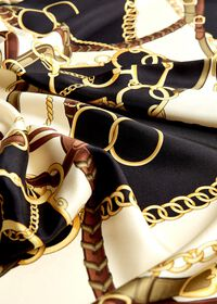 Belts and Bits Silk Scarf, thumbnail 2