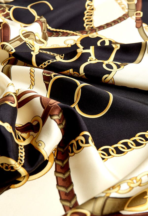 Belts and Bits Silk Scarf, image 2