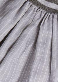 Fine Line Stripe Skirt, thumbnail 2