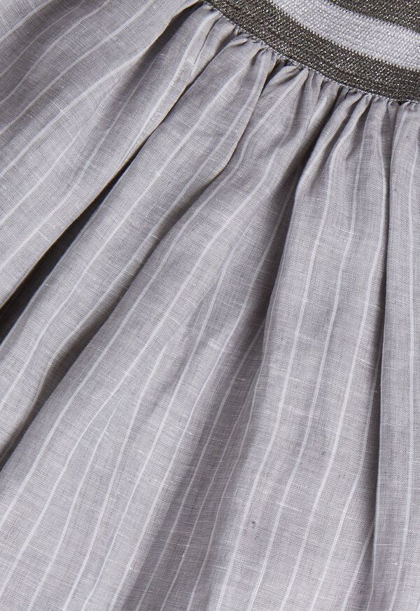 Fine Line Stripe Skirt, image 2