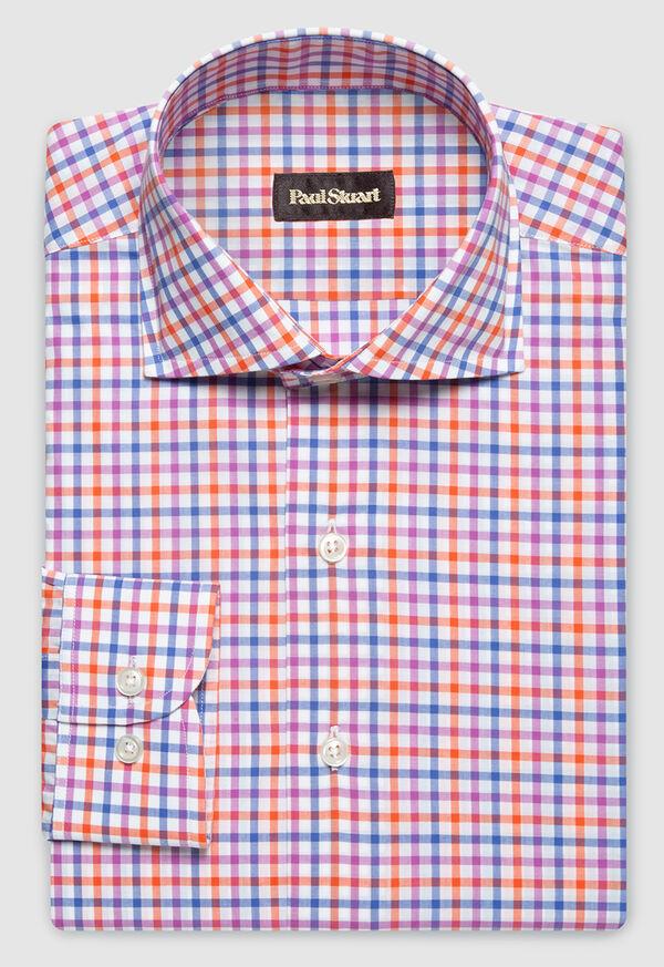 Cotton Check Pattern Sport Shirt, image 1