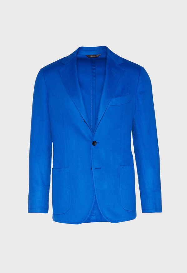 Royal Blue Cashmere Soft Jacket, image 1