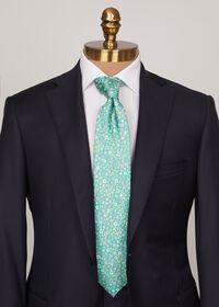 Silk Summer Floral Tie, thumbnail 2