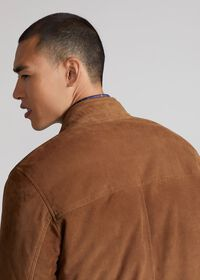 Suede Blouson Jacket, thumbnail 6