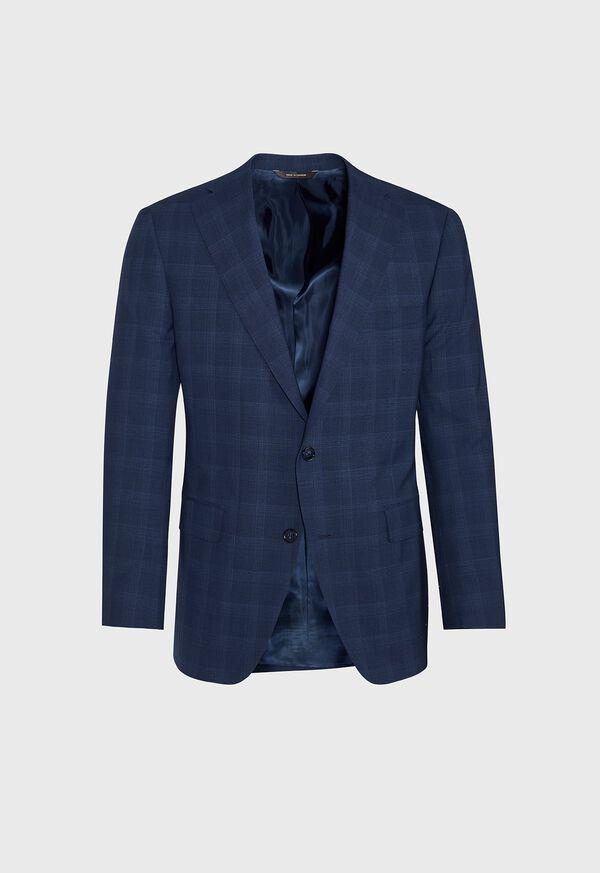 Fainted Deco Pane Super 150s Wool Suit, image 3
