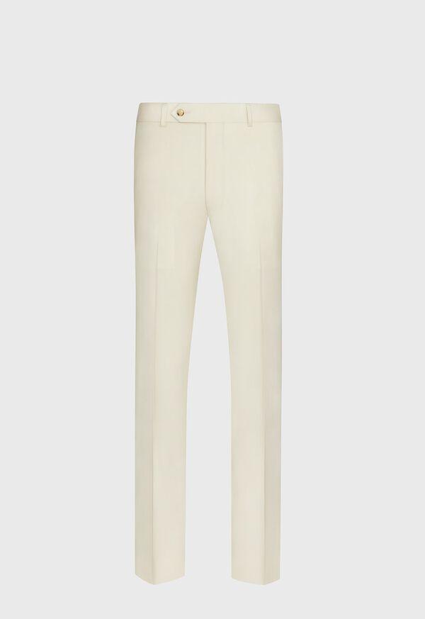 Super 110s Wool Tan Trouser, image 1