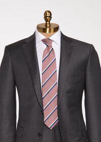 Stripe Silk Tie, thumbnail 2