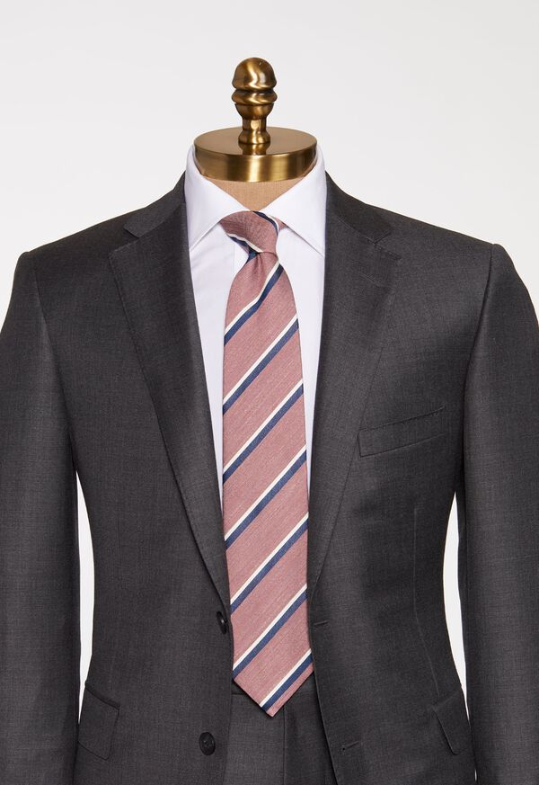 Stripe Silk Tie, image 2