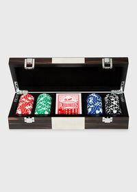 Matte Ebony 100 Chip Poker Set, thumbnail 1