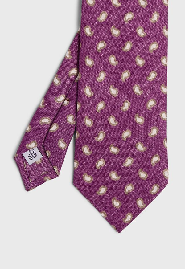 Tossed Framed Paisley Tie, image 1