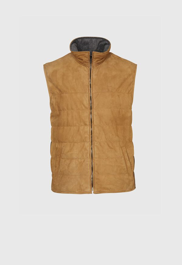 Lambskin Reversible Vest