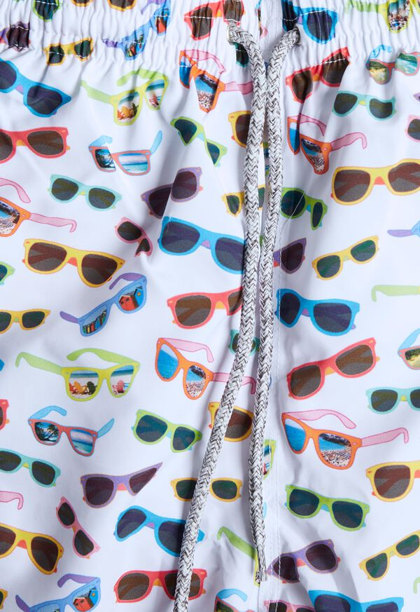 Sunglasses Print Swim Trunk, image 2