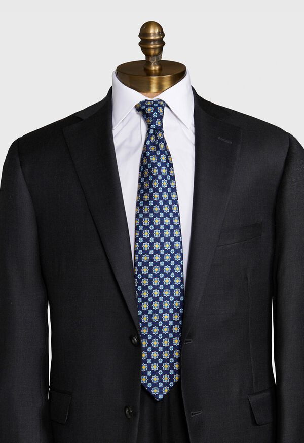 Floral Medallion Tie, image 2