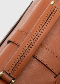 Bridle Leather Briefcase with Shoulder Strap, thumbnail 6