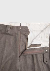 Super 120s Mink Flannel Trouser, thumbnail 2