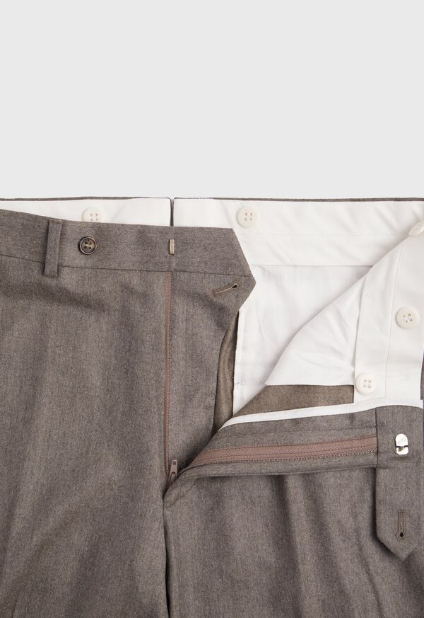 Super 120s Mink Flannel Trouser, image 2