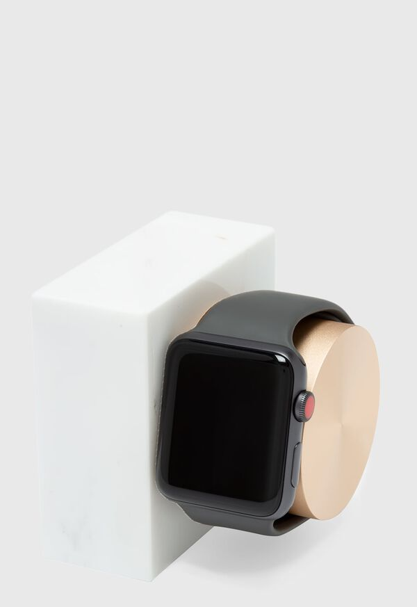 White Marble Apple Watch Charging Dock, image 2