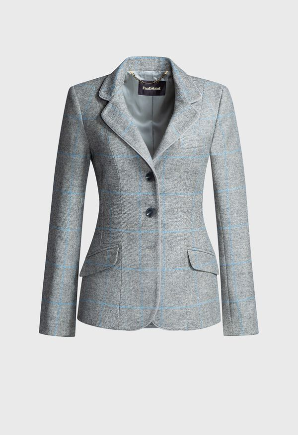 Windowpane Hacking Jacket, image 1