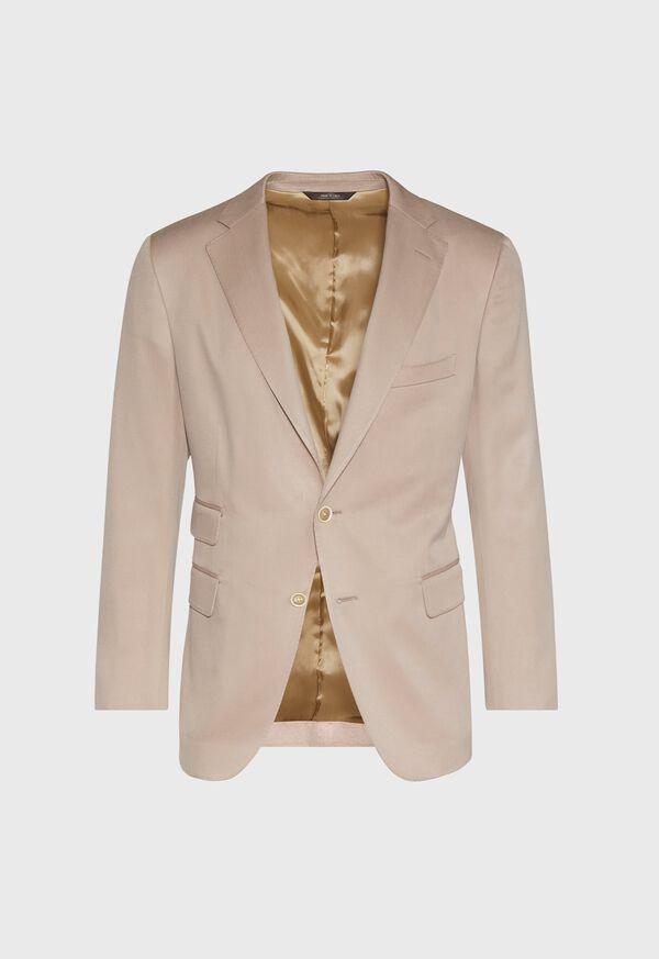 Solid Silk Sport Jacket, image 1