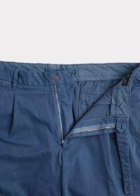 Solid Cotton Stretch Garment Dyed Gurkha Pant, thumbnail 2