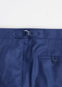 Solid Mid Blue 120s Pant, thumbnail 3
