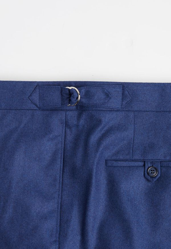 Solid Mid Blue 120s Pant, image 3