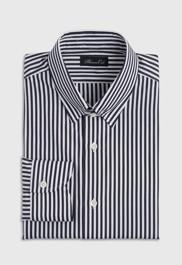 Black And White Stripe Dress Shirt, image 1