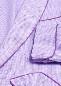 Plaid Cotton Robe, thumbnail 2
