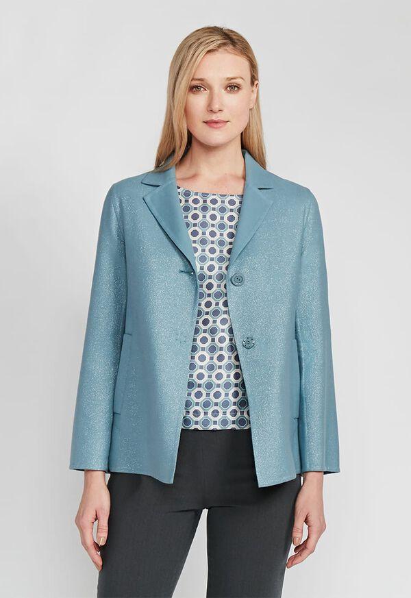 One Button Sparkle Jacket, image 1