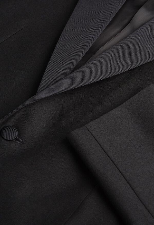 Paul Fit Peak Lapel Super 120s Wool Tuxedo, image 2