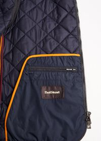 Merino Wool Flannel Quilted Vest, thumbnail 5