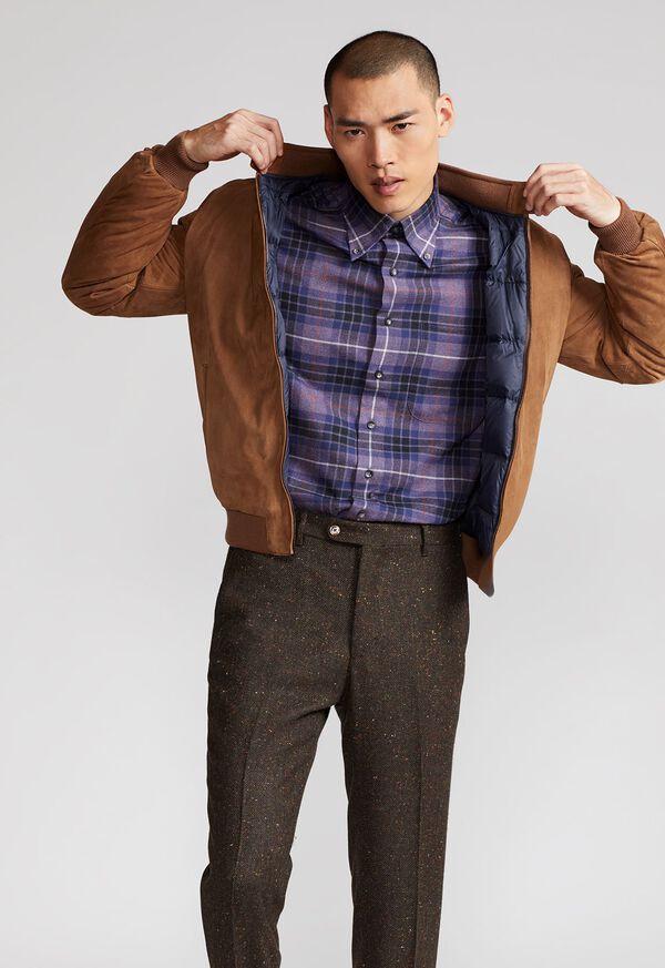 Suede Blouson Jacket, image 5